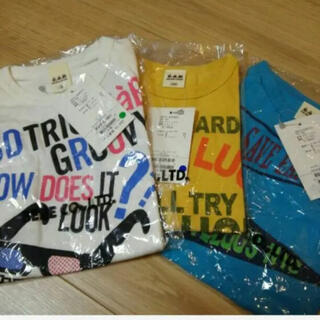 エーアーベー(eaB)の新品eab 半袖Tシャツ100 3枚セット(Tシャツ/カットソー)
