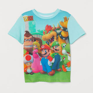 H&M - 《最新作》新品 スーパーマリオTシャツ  110/115