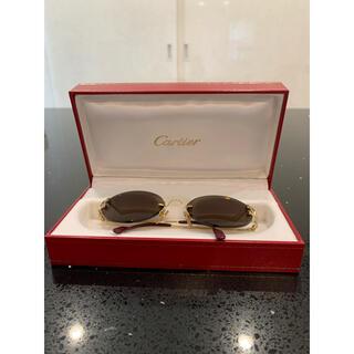 【Cartier】カルティエ Cセッティング サングラス