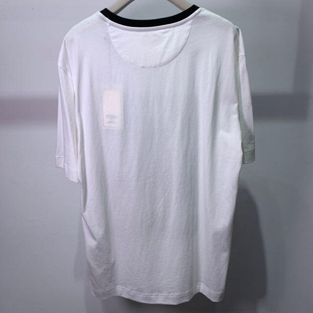 FENDI(フェンディ)のFENDI Roma Joshua Vides 3D刺繍 ロゴ Tシャツ M メンズのトップス(Tシャツ/カットソー(半袖/袖なし))の商品写真