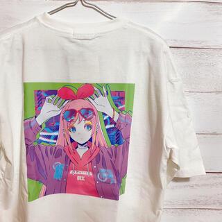 Kizuna Ai コラボ Tシャツ Lサイズ