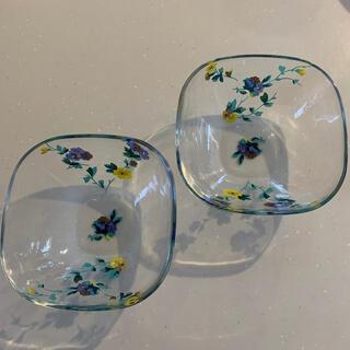 LAURA ASHLEY - ローラーアシュレイ お皿 ガラス食器