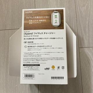サンディスク(SanDisk)のワイヤレスチャージャー(バッテリー/充電器)