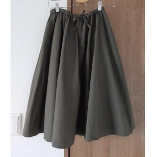 MUJI (無印良品) - ひざ丈スカート