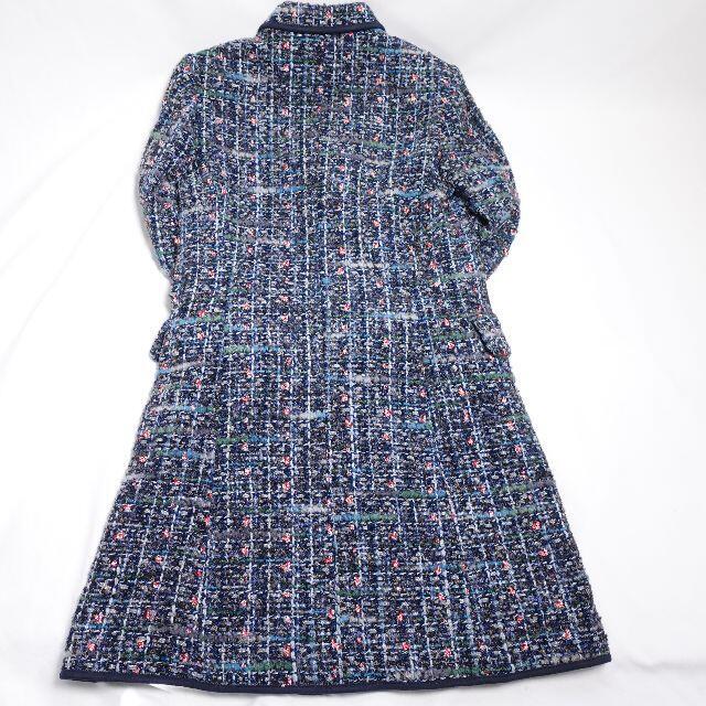 DUAL VIEW コート レディース ブルー レディースのジャケット/アウター(ロングコート)の商品写真