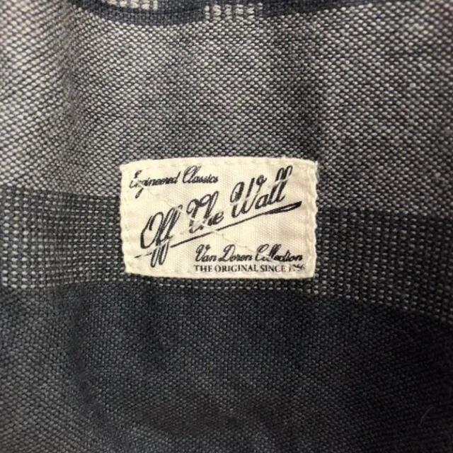 VANS(ヴァンズ)のバンズ☆ボーダー 黒灰色長袖シャツ メンズのトップス(シャツ)の商品写真