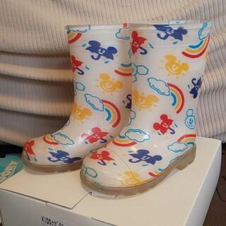 ディズニー(Disney)のディズニーリゾート限定 長靴 レインブーツ ミッキー(長靴/レインシューズ)