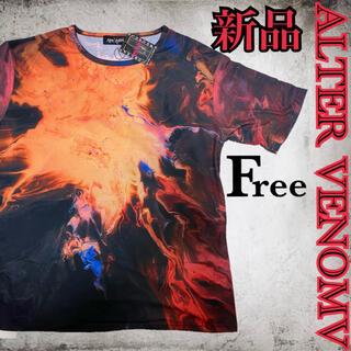 オルターべノム(ALTER VENOMV)の新品タグ付き☆オルターベノム ビッグTシャツ(Tシャツ/カットソー(半袖/袖なし))