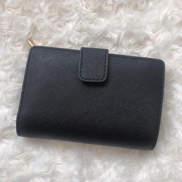Michael Kors(マイケルコース)の[期間限定値下げ中]マイケルコース MICHAEL KORS 二つ折り財布 黒 レディースのファッション小物(財布)の商品写真