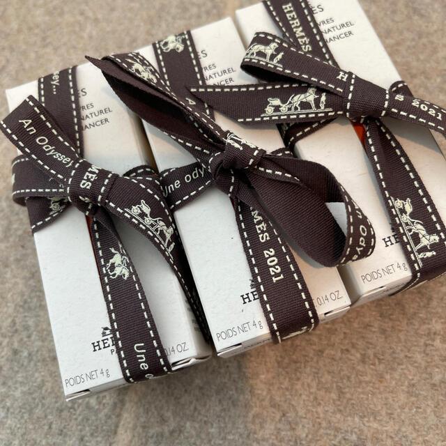 Hermes(エルメス)の エルメス ローズアレーヴル 二本セット コスメ/美容のベースメイク/化粧品(口紅)の商品写真