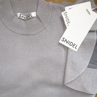 snidel - フリル切り替えニット SNIDEL スナイデル