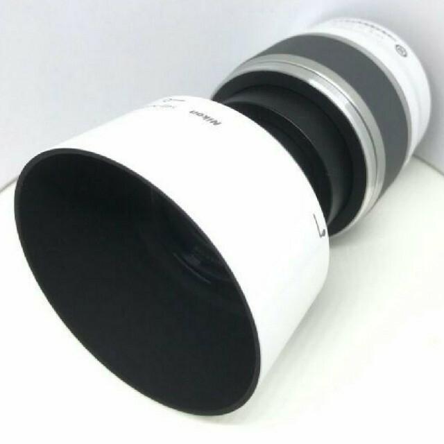 Nikon(ニコン)のNIKON1 J5 10-30VR本体(シルバー)+ダブルレンズ(ホワイト) スマホ/家電/カメラのカメラ(ミラーレス一眼)の商品写真