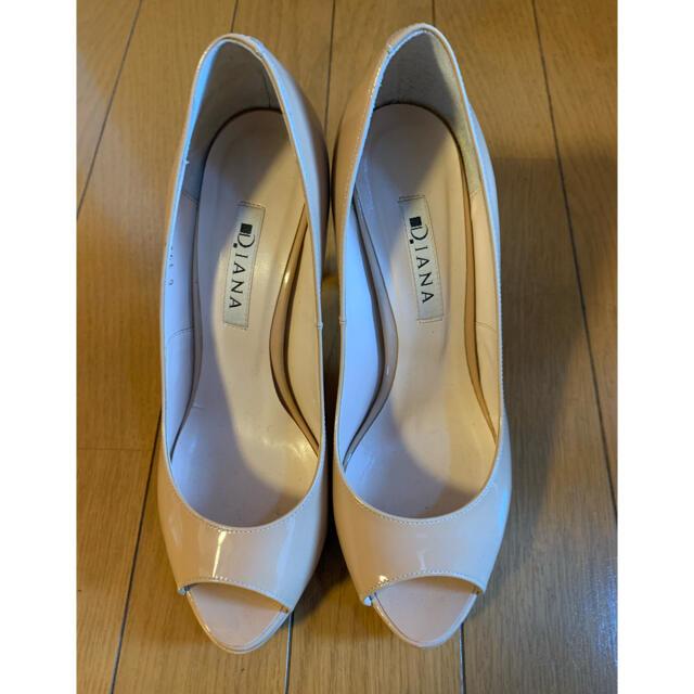 DIANA(ダイアナ)の美品☆DIANA ダイアナ パンプス 23.5cm レディースの靴/シューズ(ハイヒール/パンプス)の商品写真