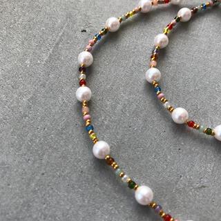 トゥデイフル(TODAYFUL)のhandmade necklace 013(ネックレス)
