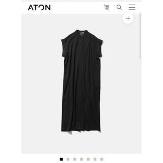 Drawer - SUVIN AIR SPINNING | BAND COLLAR DRESS