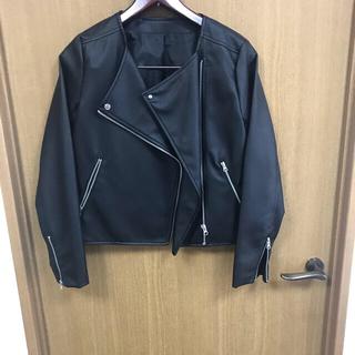 ジーユー(GU)のライダースジャケット(ライダースジャケット)