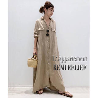 L'Appartement DEUXIEME CLASSE - L'Appartement★REMI RELIEF Maxi シャツワンピ
