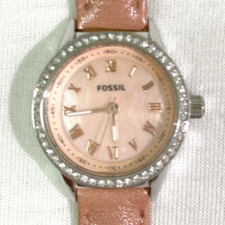 FOSSIL - ※※最終値下げ【美品】FOSSIL フォッシル 腕時計 革ベルト bq1102