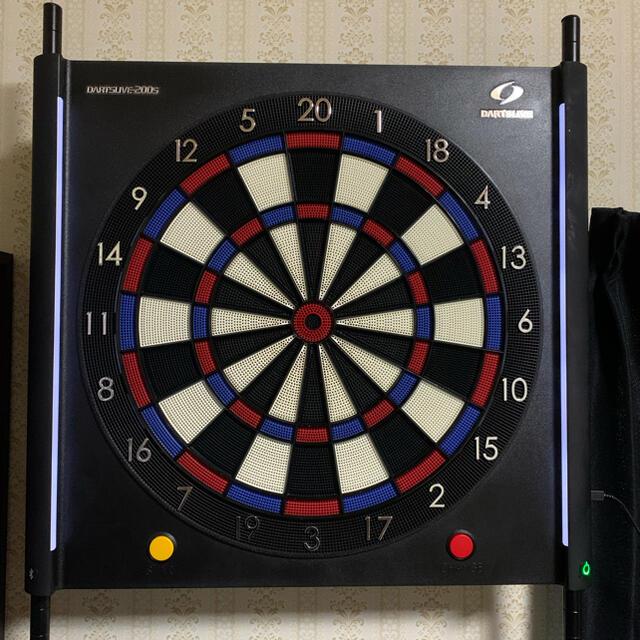 ダーツライブ200S ダーツボードスタンド スローマット セット エンタメ/ホビーのテーブルゲーム/ホビー(ダーツ)の商品写真
