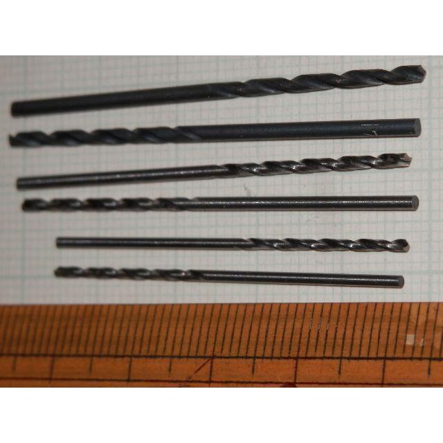 どれか3本φ1.2φ1.4φ1.7φNACHI鉄工ドリル刃 ポイント消化クーポン エンタメ/ホビーのフィギュア(その他)の商品写真