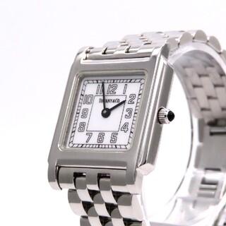 ティファニー(Tiffany & Co.)の【TIFFANY&Co.】ティファニー 時計 'クラシックスクエア' ☆美品☆(腕時計)
