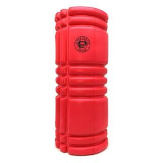 赤 フォームローラー/筋膜リリースローラー/33cm(ヨガ)