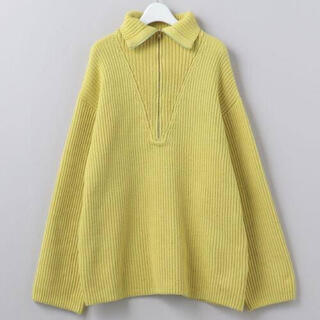 BEAUTY&YOUTH UNITED ARROWS - ROKU 21SS HIGH ZIP SAILOR KNIT ニット セーラー