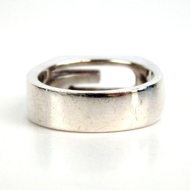 Gucci(グッチ)のグッチ ブランテッド カットアウトG Gロゴ リング 19号 箱付き17-461 メンズのアクセサリー(リング(指輪))の商品写真