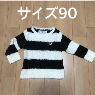 チャオパニックティピー(CIAOPANIC TYPY)のサイズ90  ひつじのショーン セーター(ニット)