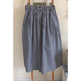 メルローズクレール(MELROSE claire)のMELROSE ロングギャザースカート(ロングスカート)
