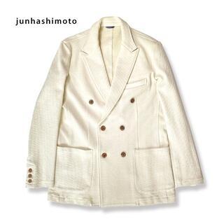 ジュンハシモト(junhashimoto)のjunhashimoto ジュンハシモト 鹿の子 ジャケット(テーラードジャケット)