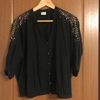 アメリカンラグシー(AMERICAN RAG CIE)のアメリカン ラグ シー トップス ブラック(シャツ/ブラウス(半袖/袖なし))