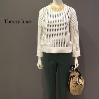Theory luxe - Theory luxe セオリー セーター レディース ホワイト