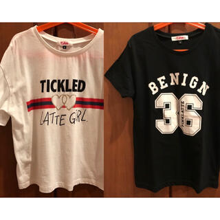 ピンクラテ(PINK-latte)のピンクラテ Tシャツ2枚(Tシャツ(半袖/袖なし))