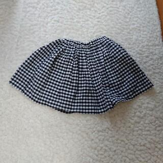グローバルワーク(GLOBAL WORK)のスカートパンツ付き(ひざ丈スカート)
