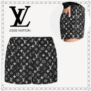 LOUIS VUITTON - LouisVuitton ステンシルエフェクトモノグラムショーツ