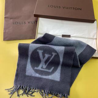 LOUIS VUITTON - LOUISVUITTON  マフラー箱リボン紙袋付き 新品