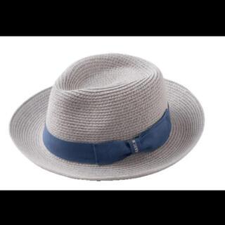 BEAMS - MARLMARL マールマール 帽子 ブルー 麦わら帽子 ストローハット