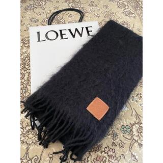LOEWE - ロエベ マフラー ブラック