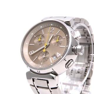ルイヴィトン(LOUIS VUITTON)の【LOUIS VUITTON】ルイヴィトン 時計 'クロノグラフ' ☆美品☆(腕時計)