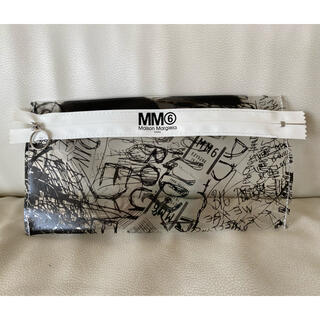 MM6 - 【SPUR 付録】MM6 Maison Margiela スクリブルクリアポーチ