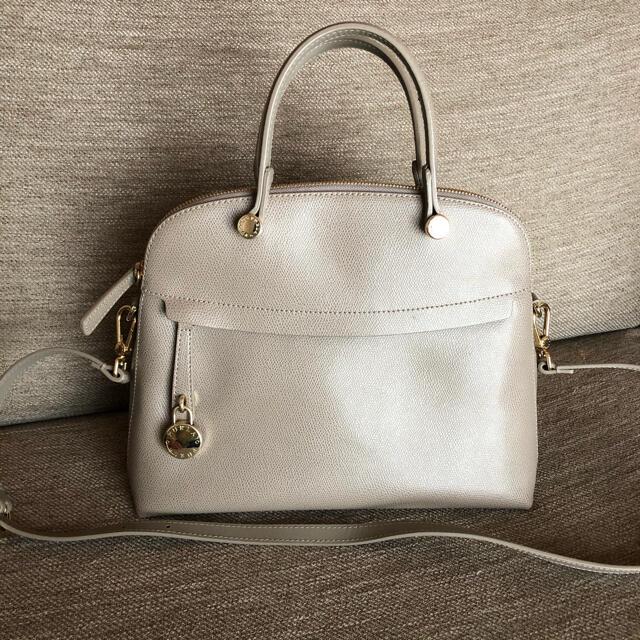 Furla(フルラ)のフルラ  パイパー サッビア 美品 レディースのバッグ(ハンドバッグ)の商品写真