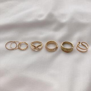 イエナ(IENA)の【限定値下げ】ゴールド リングセット 2(リング(指輪))