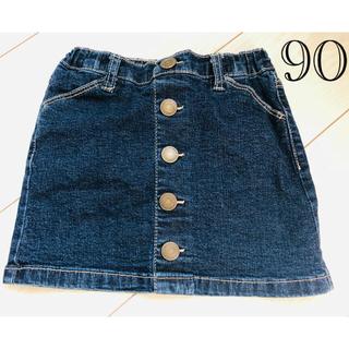 エムピーエス(MPS)のMPS 女児スカート キッズ 女の子 スカート 90cm(スカート)