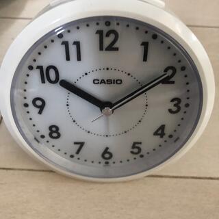 カシオ(CASIO)のカシオ目覚まし時計(置時計)