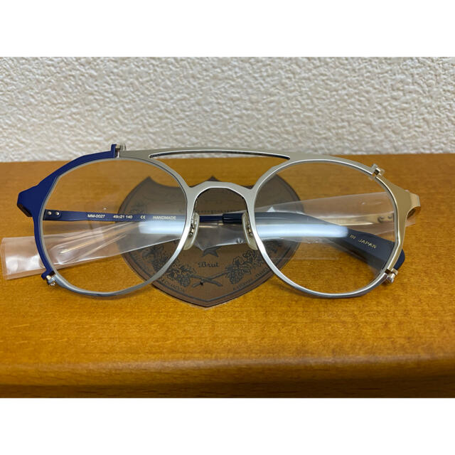 THOM BROWNE(トムブラウン)の新品未使用 マサヒロマルヤマ BROKEN  メンズのファッション小物(サングラス/メガネ)の商品写真