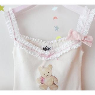 Katie - Katie LOVELY TEDDY camisole ivory アイボリー