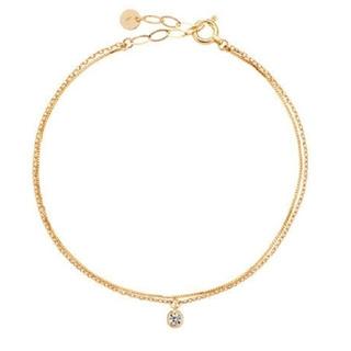 Vendome Aoyama - ヴァンドーム K18pg  2連ブレスレット ダイヤモンド