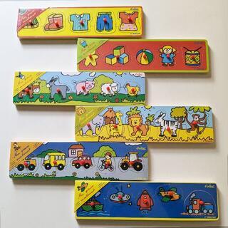 ヴィラック(vilac)のフランス木製玩具 Vilac (ヴィラック) はじめてのパズル 6種類(知育玩具)