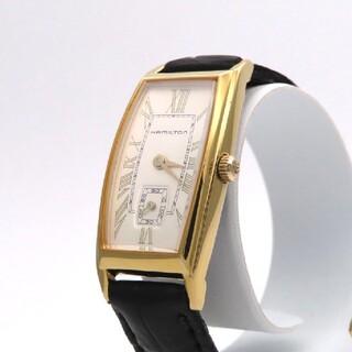 ハミルトン(Hamilton)の【HAMILTON】ハミルトン 時計 'カーライル' ゴールドカラー ☆美品☆(腕時計)